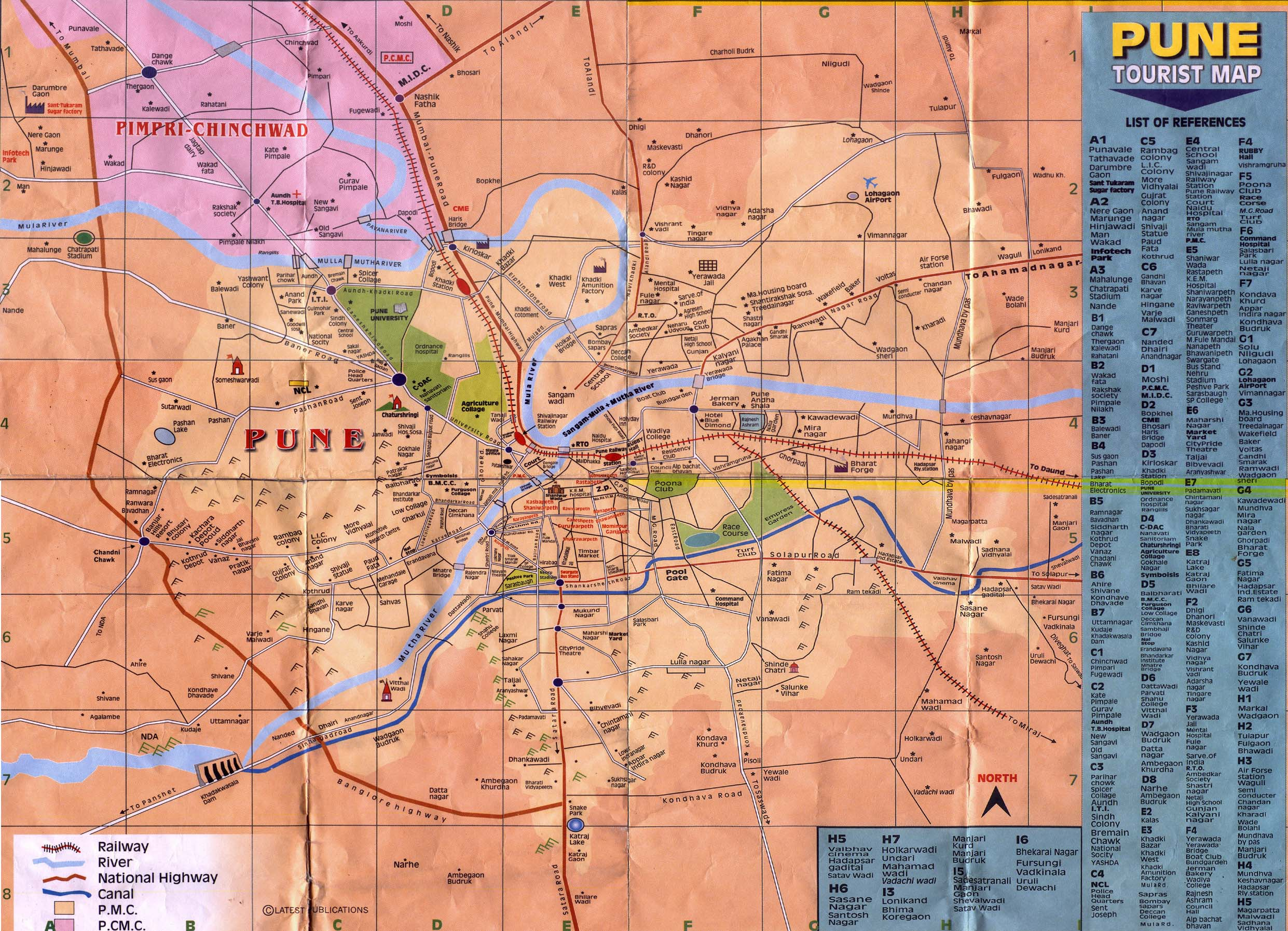 Pune india detailed map ankit jain finally i came with detailed map of pune gumiabroncs Image collections